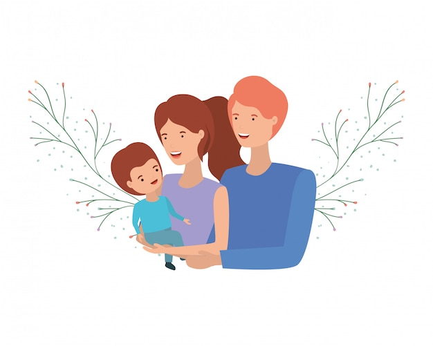 Para rodziców z charakterem awatara syna