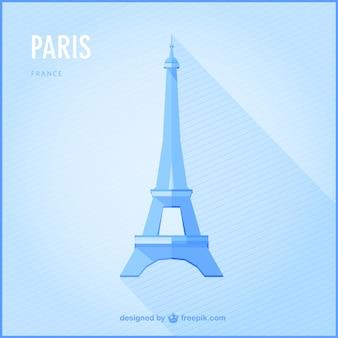 Paris wektor góry