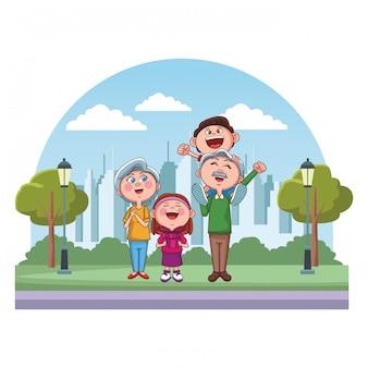 Park dziadków i wnuków