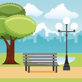Park krajobrazowy i miasto