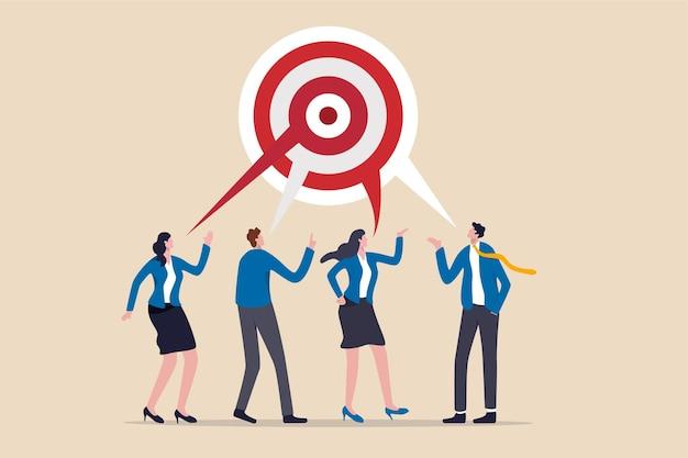 Partner biznesowy omawiający prace związane z budową okrągłej tarczy do rzutek