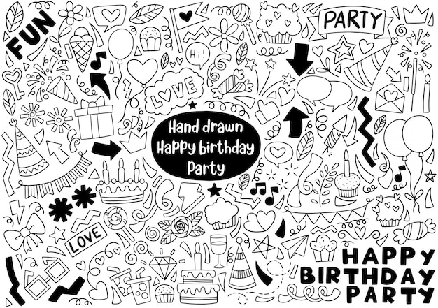 Party doodle wszystkiego najlepszego