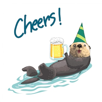 Party otter