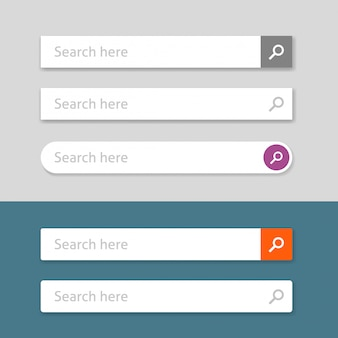 Pasek wyszukiwania lub element interfejsu użytkownika w polach wyszukiwania