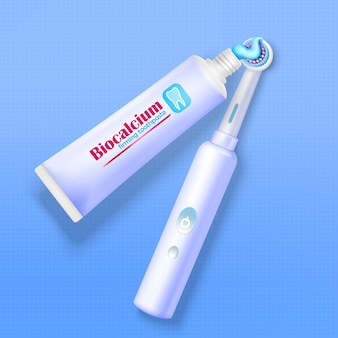 Pasta do zębów i szczoteczka do zębów