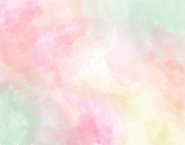 Pastelowe akwarela streszczenie tło
