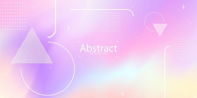 Pastelowe fioletowe tło gradientowe ekologia koncepcja grafiki,