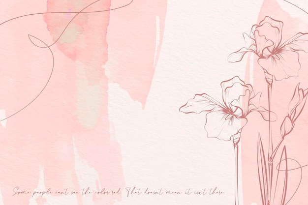 Pastelowe kolory kwiatów tła