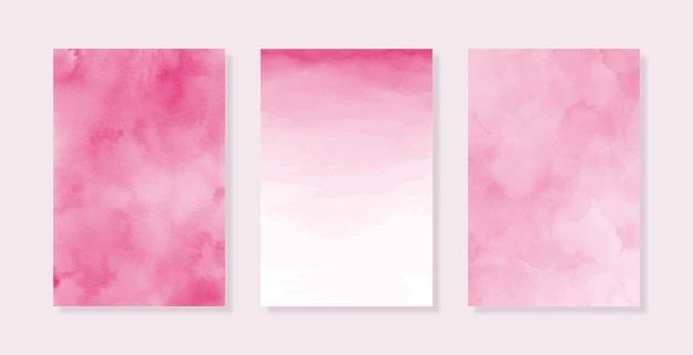 Pastelowe różowe akwarele tła różowa tekstura papieru miękkie różowe tło