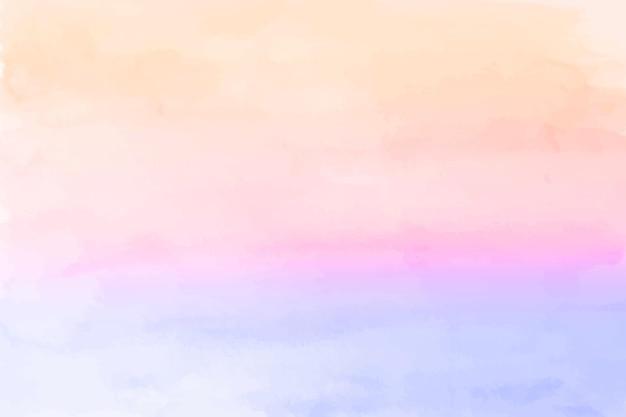 Pastelowe tło malowane akwarelą