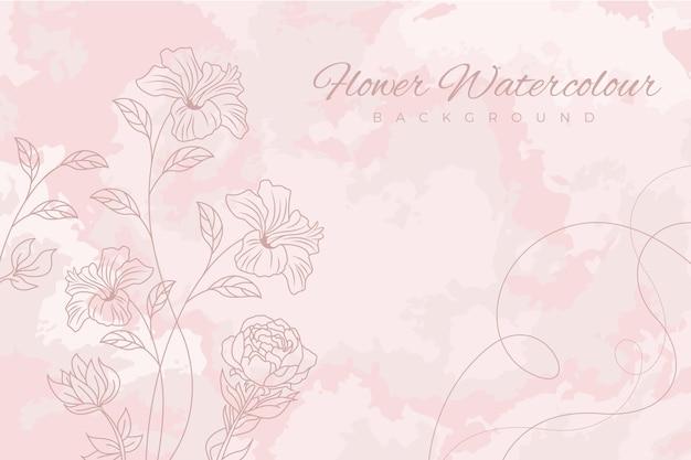 Pastelowe tło różowy proszek