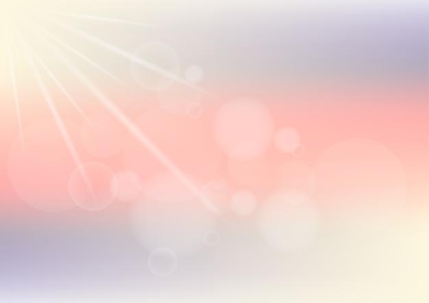 Pastelowego koloru abstrakcjonistyczny tło z bokeh