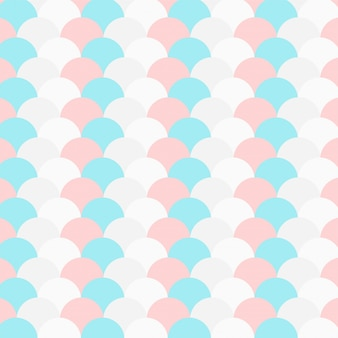 Pastelowy kolor powtarzający się wzór koła