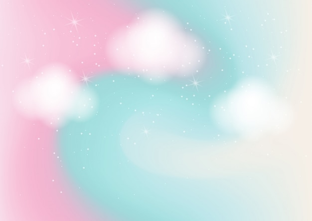 Pastelowy kolor streszczenie tło z bokeh