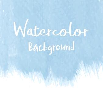 Pastelowy niebieski akwarela tło wektor