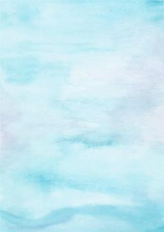Pastelowy niebieski streszczenie tekstura tło z akwarelą