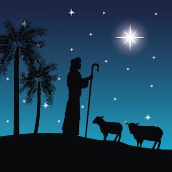 Pasterz i jego ikona owiec