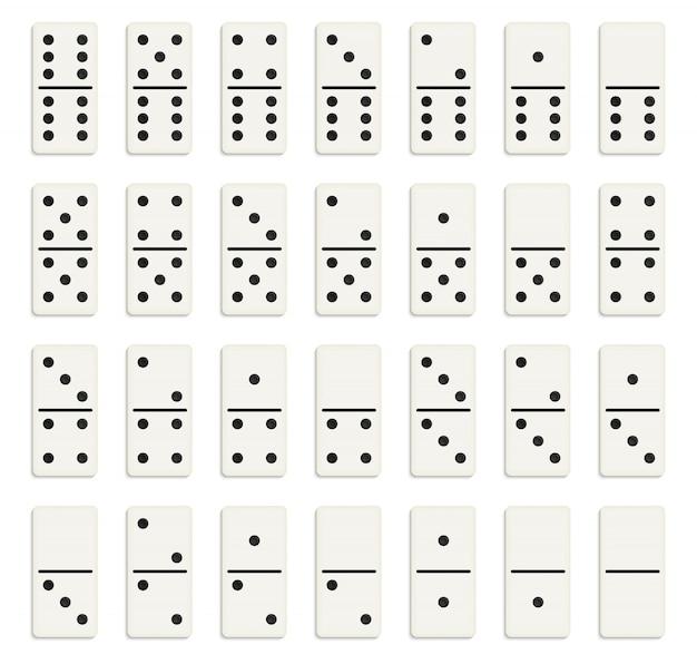 Pełny zestaw domino