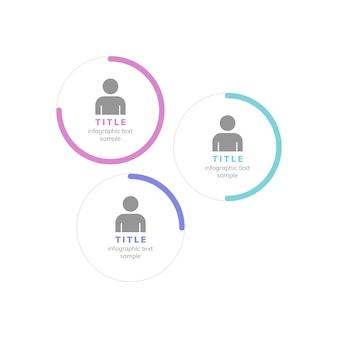 Performance manager wykres korporacyjny wektor