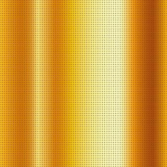 Perforowane, porysowane złoto metaliczne