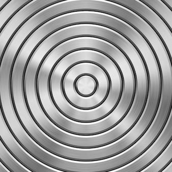 Perforowane tło z teksturowanej technologii metalowej