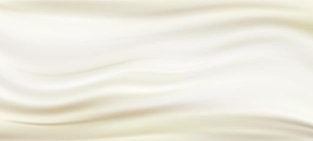 Perła jedwabna tkanina satynowa tło ilustracja