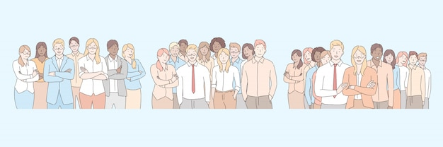 Personel firmy, koncepcja zespołu biznesowego
