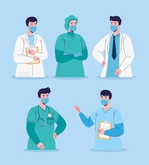 Personel lekarzy płci męskiej