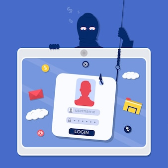 Phishing innych kont internetowych