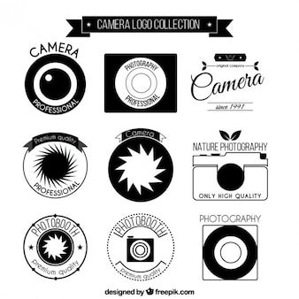 Photo camera logo collection