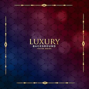 Piękny luksusowy vintage wzór tła