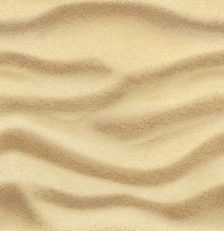 Piasek, lato, plaża, bezszwowe tło