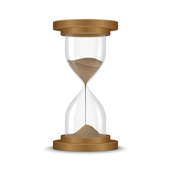 Piasek zegar z klepsydrą