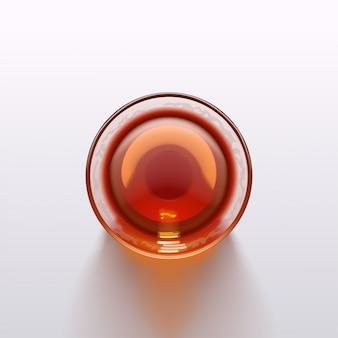 Pić szklany widok z góry