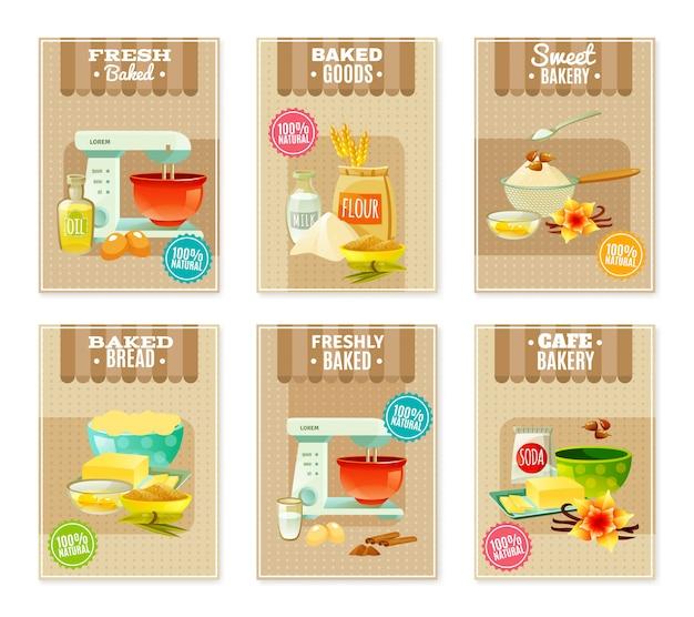 Pieczenie banery i karty