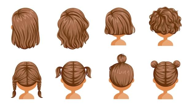 Piękna fryzura.