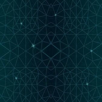Piękna gwiaździsta ilustracja wektorowa z abstrakcyjnym kosmicznym wzorem na ciemnym tle