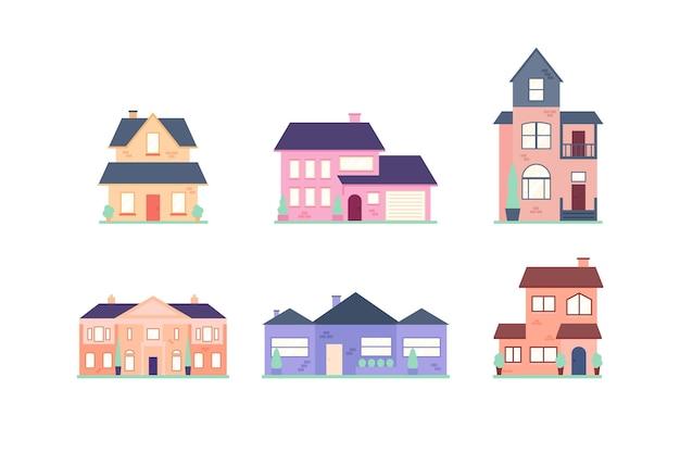 Piękna kolekcja domu