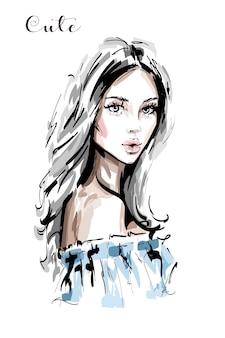 Piękna młoda kobieta