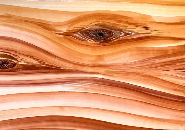 Piękna naturalna struktura drewna
