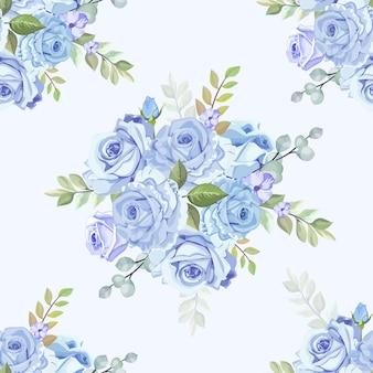Piękna róża wzór tapety
