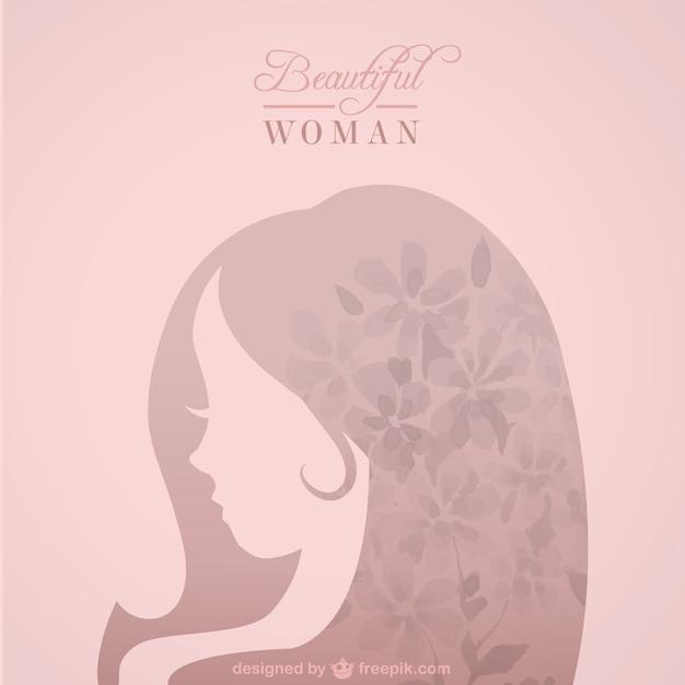 Piękna sylwetka kobiety