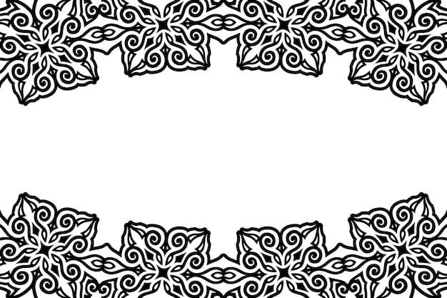 Piękne abstrakcyjne czarne tło z białą przestrzenią kopii