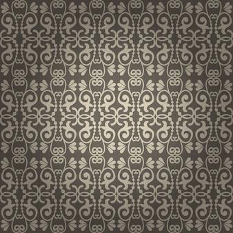 Piękne bezszwowe tło wektor vintage tapety
