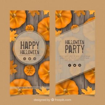 Piękne broszury halloween party