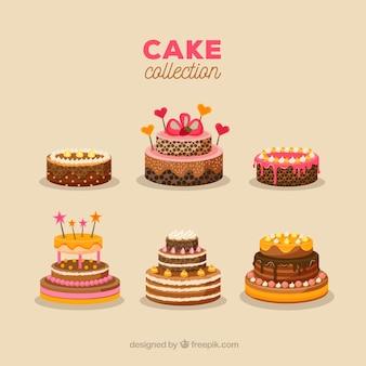 Piękne ciasta urodzinowe