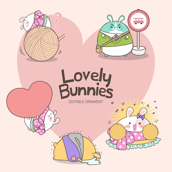 Piękne króliczki ashley