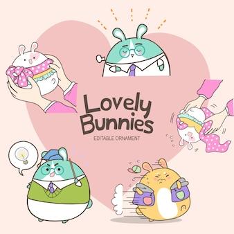 Piękne króliczki millie