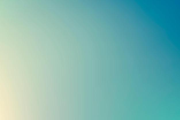 Piękne letnie tło gradientowe w kolorze niebieskim