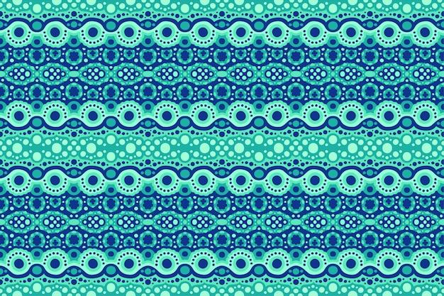 Piękne niebieskie tło web z abstrakcyjny wzór bez szwu